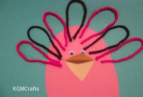thumbnail of yarn turkey