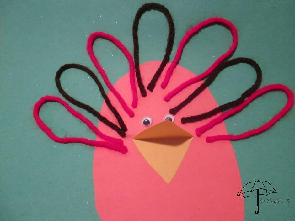 yarn feather turkey