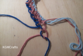 knot strands 2 and 4